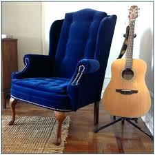 wingback chair velvet historicthomaswvcom