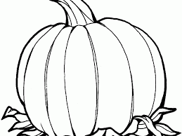 Large Pumpkin Pictures To Color Duilawyerlosangeles