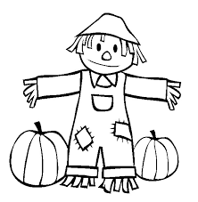 Small Picture Scarecrow Coloring Pages And Book 17038 Bestofcoloringcom