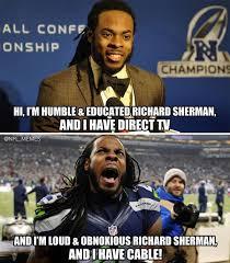 """NFL Memes on Twitter: """"New Richard Sherman Direct TV Ad. http://t ... via Relatably.com"""