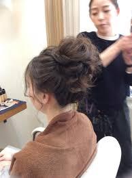 花嫁ヘアスタイル結婚式に人気のお団子ヘア ブライダルヘアメイクla