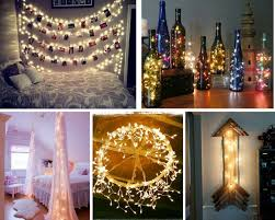 Decorate With String Lights   26 Cool DIY Projects For Teens Bedroom