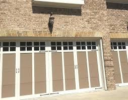 how to paint garage door garage door painting after with white trim paint and darker panels how to paint garage door