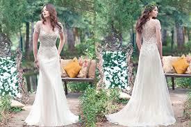 14 best rustic wedding dresses everafterguide