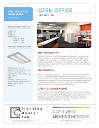 Troffer Light Spacing Open Office Northwest Lighting Network