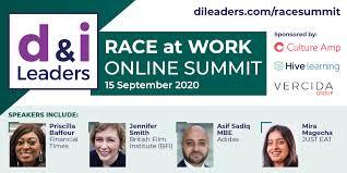 "d&i Leaders (Diversity and Inclusion Leaders) on Twitter: ""350+ now  attending d&i Leaders Race at Work Online Summit. Join speakers Priscilla  Baffour (@Cilla4Talent); Jennifer Smith, Asif Sadiq MBE (@AsifSadiq); Mira  Magecha (@MiraMagecha)"