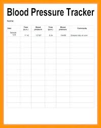 Printable Blood Pressure Chart Lovely Blood Pressure Chart Template