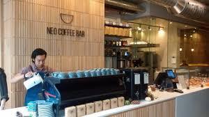 coffee bar. Neo Coffee Bar: The Bar - Very Cosmopolitan