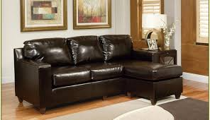 small set contemporary leather sectionals brown room rooms living spaces reclining sofa design for sleeper compact