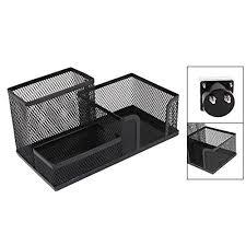 neat office supplies. Demarkt Multifunction Pen Holder Creative Metal Mesh Storage Container Box Fashion Neat Office Supplies-Green Supplies