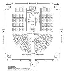 the house of representatives chamber plan for the 43rd parliament
