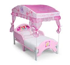 Delta Children Disney Princess Canopy Toddler Bed - Baby - Toddler ...