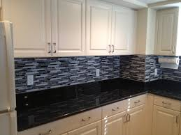 kitchen backsplash glass tile dark cabinets. Black Back Splash 2016 15 For Granite Countertops And Then Tile Backsplash Black. » Kitchen Glass Dark Cabinets S