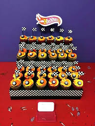 Hot Wheels Cake Toppers Cups Cupcake Printable Cars Edible