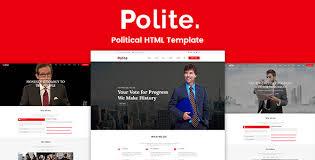 Political Website Templates Political Html Website Templates From Themeforest