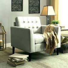 outsting bedroom chair with ottoman small s