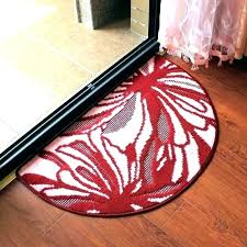 circle rugs small semi rug round for kitchen half sophisticated pertaining to mat circle rugs rug for kitchen semi