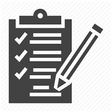 Patient Chart Clipboard Medical Check Up Glyph By Nadiinko
