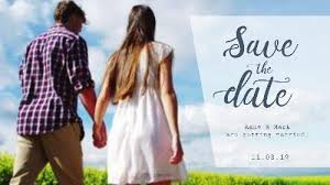 Simple To Edit Save The Date Video Templates