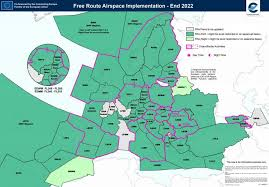 Air Navigation Charts Europe Free Route Airspace Fra Eurocontrol