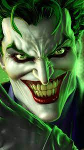 Wallpaper Black Green Joker