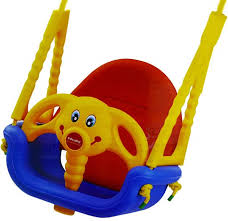 edu play baby indoor outdoor swing seat 3 in 1 perfect for infants babies toddlers safe and secure