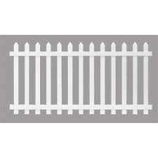 Vinyl Picket Fence eBay