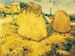 haystack near a farm arles 1888 van gogh