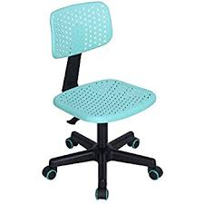 computer chair for kids. Simple For GreenForest Children Student Chair LowBack Armless Adjustable Swivel  Ergonomic Home Office Computer Desk Hollow Star Turquoise In Chair For Kids O