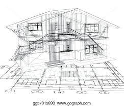 architecture houses blueprints. Delighful Houses Blueprint House Architecture Of A Vector  Design App   Throughout Architecture Houses Blueprints Y