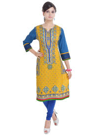 Ethnic Kurti Design Exclusive Indian Ethnic Pure Cotton Designer Printed Casual Wear Kurti Buy Kurti Latest Kurti Designs Printed Design Ladies Kurti Product On