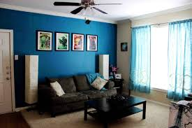 Warm Color Living Room Blue Color Living Room House Photo