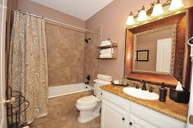 Gray And Brown Color Scheme Bathroom Home Design and Remodeling Ideas