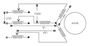 induction motor wiring diagram Ac Motor Wiring Diagram single phase induction motor connection diagram single inspiring ac motor wiring diagrams pdf