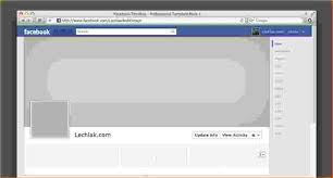 blank facebook timeline page.  Facebook 12 A Blank Facebook Profile With Timeline Page E
