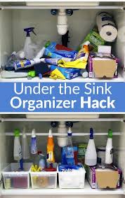 a homeowner s under the sink clutter her solution simple and brilliant