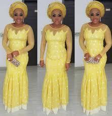 Top Ten Beautiful Aso Ebi Styles For Weddings Dabonke African