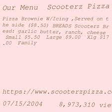 scooters pizza somerset mall