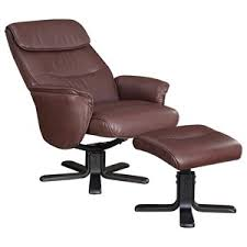 chair ottoman set. Leatherette Chair And Ottoman Set