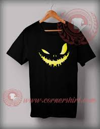 Scary T Shirts Designs Scary Face Pumpkin T Shirt