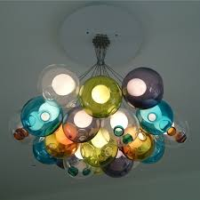 custom coloured bocci 28 19 chandelier example installed by foundry