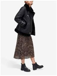 warehouse faux leather oversized biker jacket womens warehouse regular long sleeve 100 polyurethane leather jackets black style clothing 255382