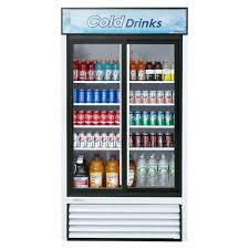 true 2 door cooler beach 2 sd commercial bar blender oz true 2 door glass cooler