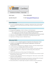 ResumeNehaAWS Amazing Devops Engineer Resume