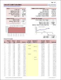 Loan Calculation Template Free Home Equity Line Of Credit Calculator For Excel
