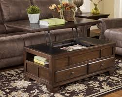 Wooden Coffee Tables With Drawers Wooden Coffee Table With Drawers My Blog