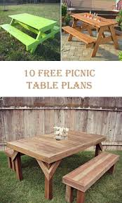 free picnic table plans free octagon picnic table plans
