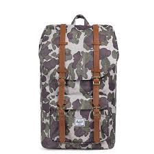 herschel hershel little america frog camo tan synthetic leather 10014 01858