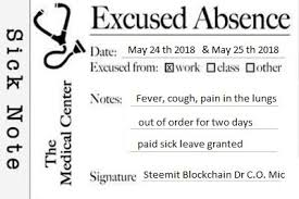 My Doctors Note Comedyopenmic Round 15 Entry No1 Steemit