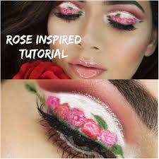 spring rose inspired makeup tutorial